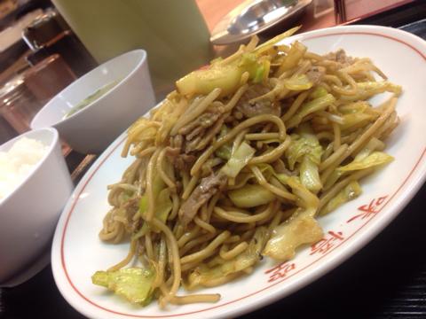 中華料理 味悟空の焼きそば定食