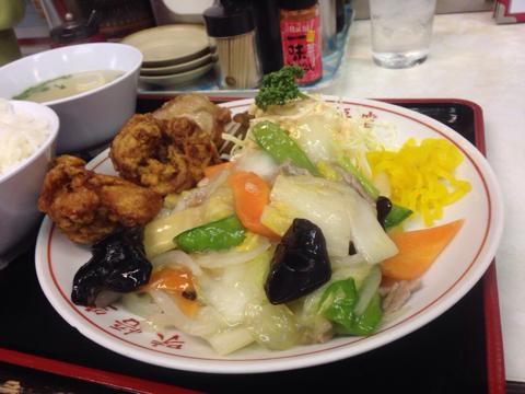 中華料理 味処悟空の中華定食