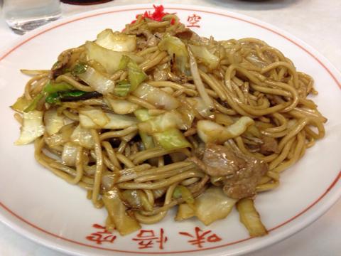 中華料理 味悟空の焼きそば