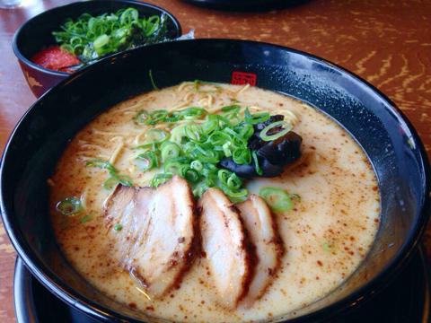 らー麺 藤平のミニ丼セット