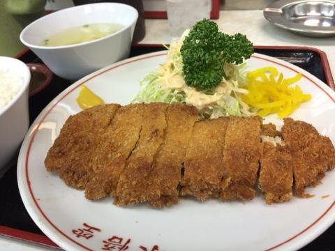 中華料理 味悟空のとんかつ定食