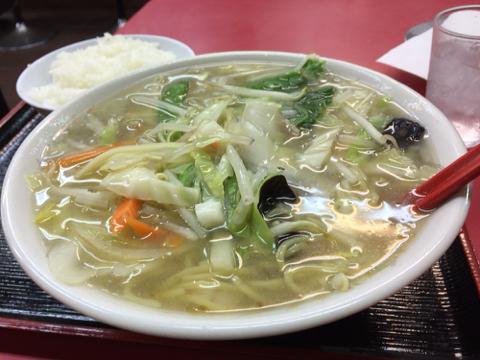 中華料理 味悟空のチャンポン定食