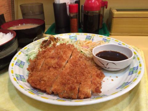 カレーハウス 五番館のチキンカツ定食