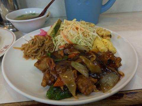 中華料理 眠龍の酢豚定食
