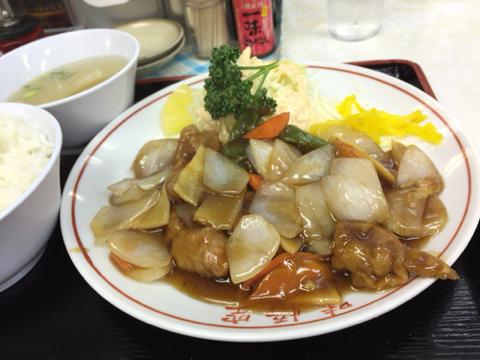 中華料理 味悟空のサービス定食