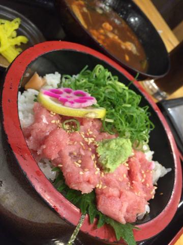海鮮れすとらん 魚輝水産のねぎトロ丼