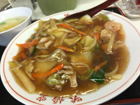 味悟空 三国店の中華丼