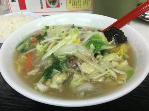味悟空 三国店のチャンポン定食