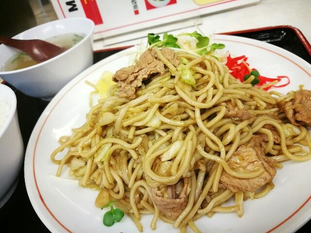 味悟空 三国店のサービス定食