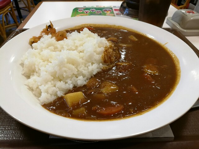 すき家 新大阪西宮原店のカレーライス