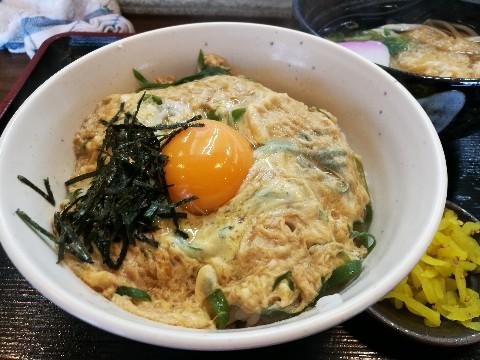 なにわ家 新大阪店のミニ玉丼と定食