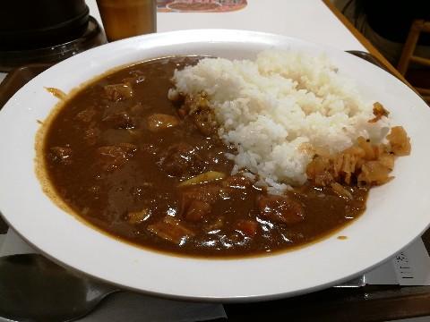 すき家 新大阪西宮原店のポークカレー