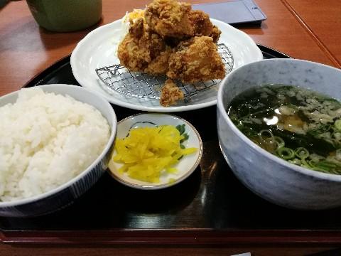 食いしんぼアイワの唐揚定食