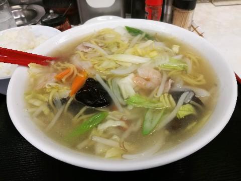 味悟空 三国店のちゃんぽん定食
