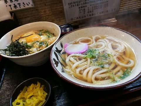 めん処 なにわ家 新大阪店の玉丼定食